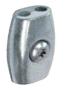 Kabelklem ei-vorm 4mm